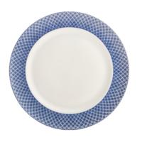 Blue Dragon Dessert Plate (W/O Center) | Gracious Style