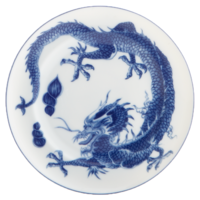 Blue Dragon Bread & Butter Plate | Gracious Style