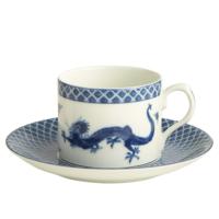 Blue Dragon Can Tea Cup & Saucer | Gracious Style
