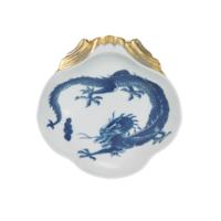 Blue Dragon Shell Dish | Gracious Style