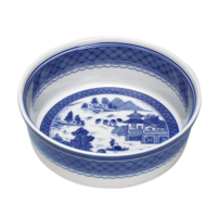 Blue Canton Round Baking Dish | Gracious Style