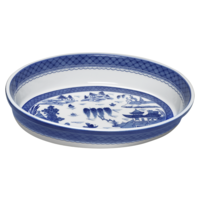Blue Canton Oval Baking Dish | Gracious Style