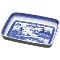 Blue Canton Rectangular Baking Dish | Gracious Style