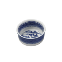 Blue Canton Ramican Dish | Gracious Style
