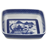 Blue Canton Square Baking Dish | Gracious Style
