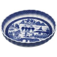 Blue Canton Quiche Dish | Gracious Style