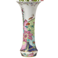 Tobacco Leaf Divina Vase | Gracious Style