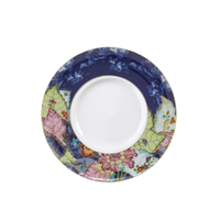 Tobacco Leaf Contemporary Service Plate | Gracious Style