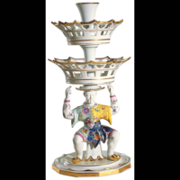 Tobacco Leaf Large Man Epergne 25.5 in | Gracious Style