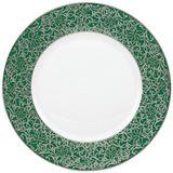 Salamanque Platinum Green Salad Plate   Gracious Style