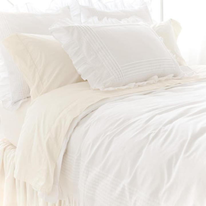 Pine Cone Hill Louisa White Cotton Bedding Gracious Style