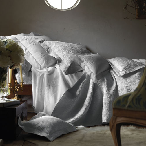 Peacock Alley Vienna Matelasse Coverlet | Gracious Style