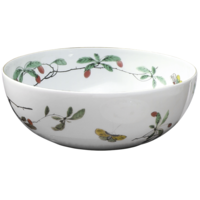 Famille Verte Large Bowl 8.5 in | Gracious Style