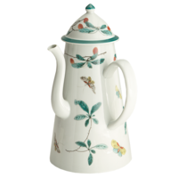 Famille Verte Coffee Pot 10 in | Gracious Style