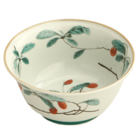 Famille Verte Sugar Bowl 4.5 in | Gracious Style