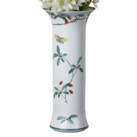 Famille Verte 11 Trumpet Vase | Gracious Style