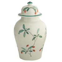 Famille Verte Ginger Jar & Lid 8.5 in | Gracious Style