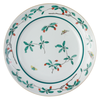 Famille Verte Chop Plate 13 in | Gracious Style