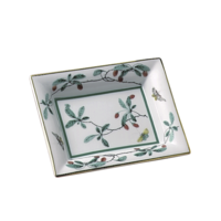 Famille Verte Small Tray 4.5 x 5.5 in  | Gracious Style