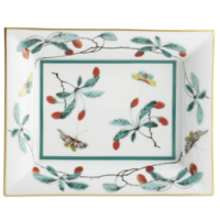 Famille Verte Large Tray 6 x 7.5 in | Gracious Style