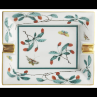 Famille Verte Large Ashtray | Gracious Style