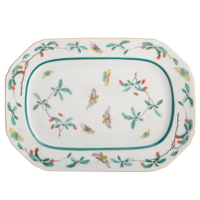 Famille Verte Cookie Tray 7.5 x 10.5 in | Gracious Style