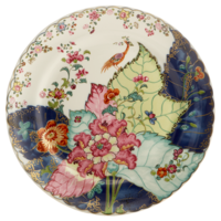 Tobacco Leaf Dinner Plate | Gracious Style
