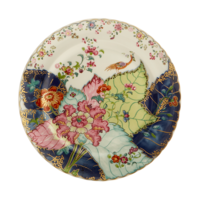 Tobacco Leaf Dessert Plate 8.5 in | Gracious Style