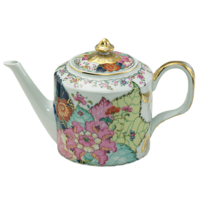 Tobacco Leaf Teapot 6 in | Gracious Style