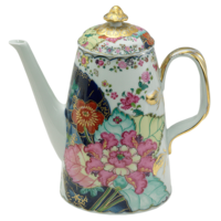 Tobacco Leaf Coffee Pot 8 in | Gracious Style