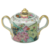 Tobacco Leaf Sugar Bowl 4.5 in | Gracious Style