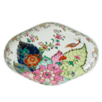 Tobacco Leaf Oval Tray | Gracious Style