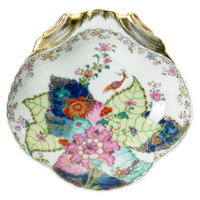 Tobacco Leaf Shell Dish 12 in | Gracious Style
