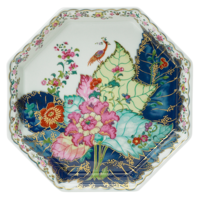 Tobacco Leaf Octagonal Tray 8 in  | Gracious Style