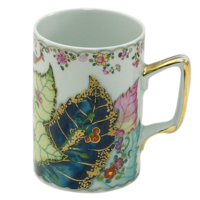 Tobacco Leaf Small Mug 4 in | Gracious Style