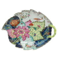 Tobacco Leaf Large Leaf Dish 9 x 11.5 in | Gracious Style