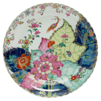 Tobacco Leaf 13 Chop Plate | Gracious Style