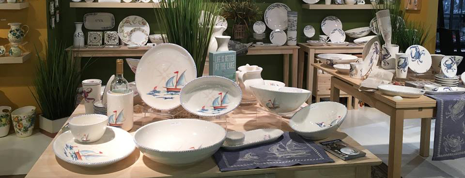 Created by Donna Marie Territo \ Abbiamo Tutto\  is a collection of handpainted Italian ceramics evocative of the Italian countryside and the Mediterranean ... & Abbiamo Tutto Handpainted Italian ceramics | Gracious Style