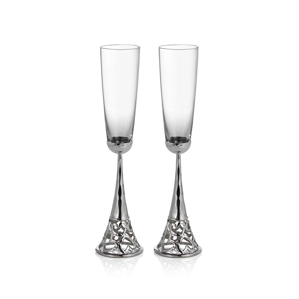 Free Heart Toasting Flutes with your Michael Aram Gift Registry