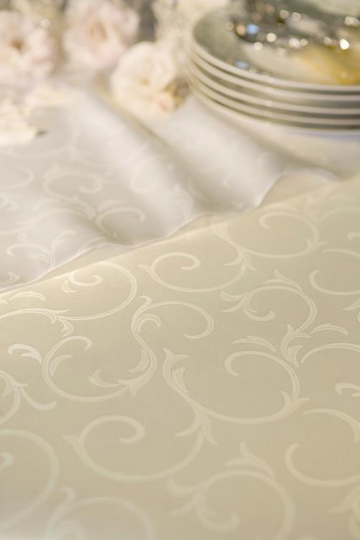 Ashford Cotton Damask Tablecloth