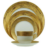 Porcel Auratus Dinnerware | Gracious Style