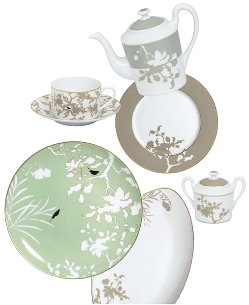 Raynaud Birds Limoges Dinnerware