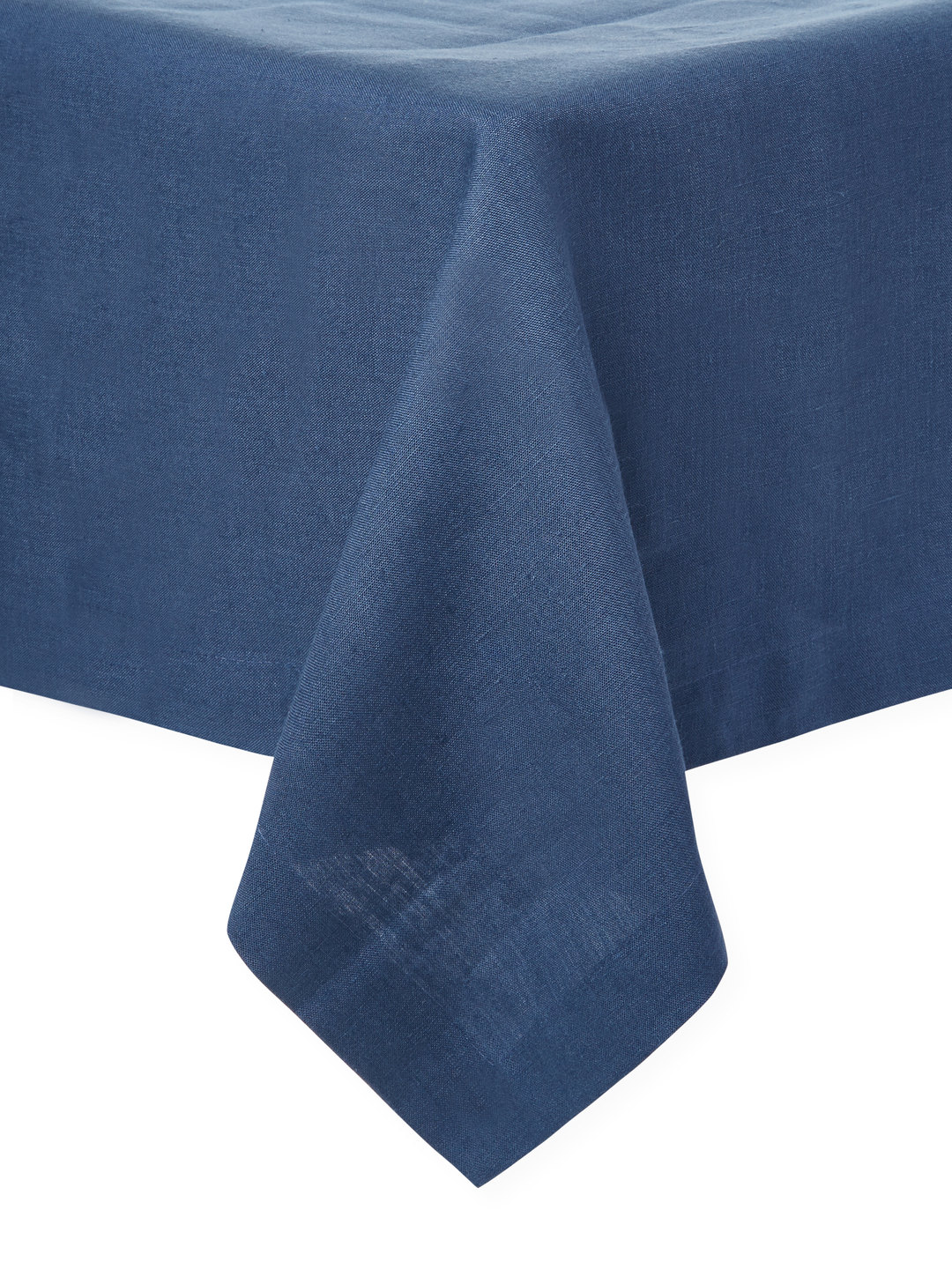 Riviera Navy 68 In X 120 In Tablecloth