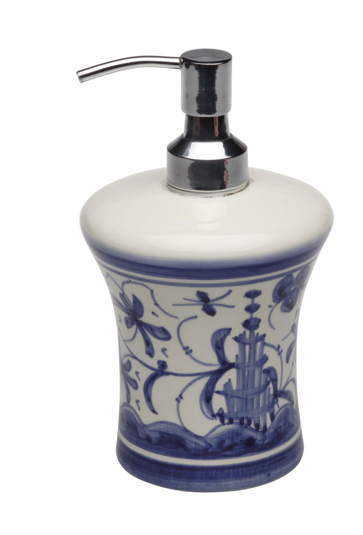 Casafina 17th Century Blue Bath Accessories | Gracious Style