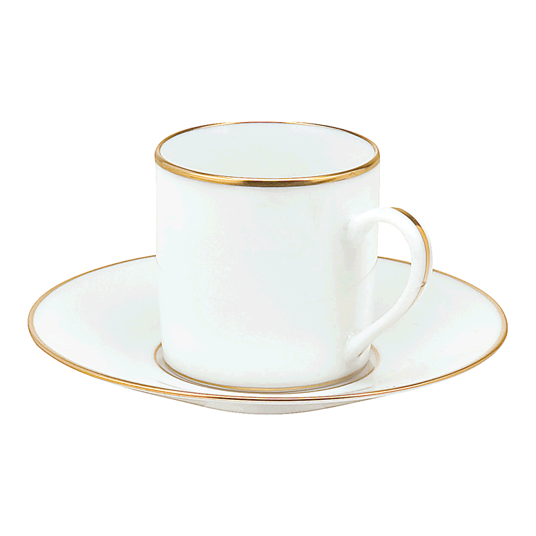 Albi Gold Demi-Tasse Cup u0026 Saucer 3 3/8 fl oz | Gracious  sc 1 st  Gracious Style & Christofle Albi Gold Dinnerware | Gracious Style
