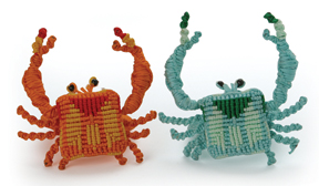 Crab Napkin Rings :  whimsical entertaining design designer