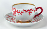 Cristobal Coral Tea Cup 8.5 oz | Gracious Style