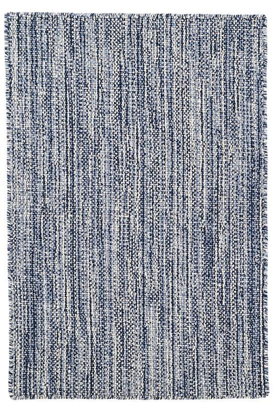 Dash Albert Bella Navy Woven Wool Rugs Gracious Style
