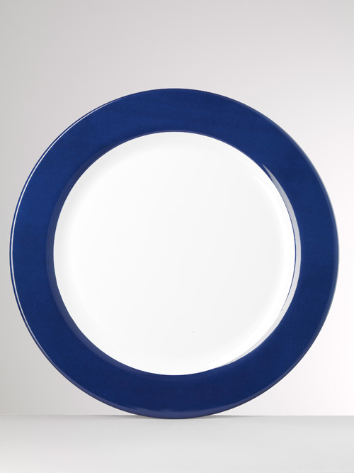 Corallo Melamine Blue Charger 16 in Round : patterned dinnerware - Pezcame.Com