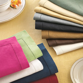 Sferra Festival Table Linens Classic Colors | Gracious Style